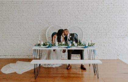 moody blues industrial boho styled shoot
