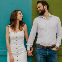 south congress summer engagement session from david mccandless photography