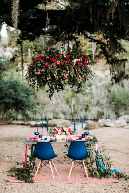 bold jewel-toned wedding inspo at hidden falls