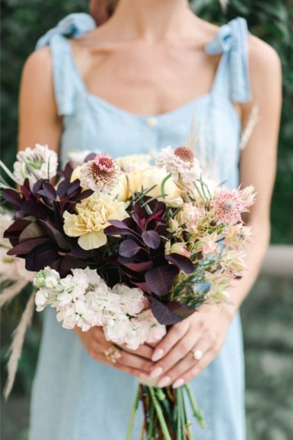 engagement bouquet