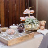 the cupcake bar doughnut bar