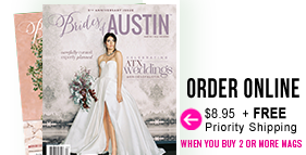 Order Brides of Austin Fall Winter 2019 Issue