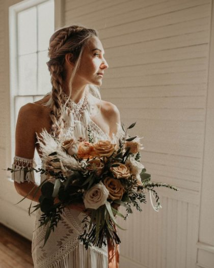 neutral blooms styled shoot from nikk nguyen