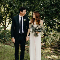 Taylor Boose Weds Travis Wilson Modern Boho Wedding at Barr Mansion