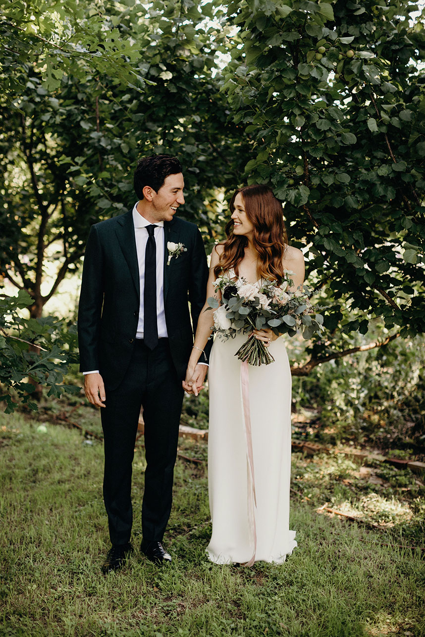 Taylor Boose Weds Travis Wilson Modern Boho Wedding at Barr Mansion