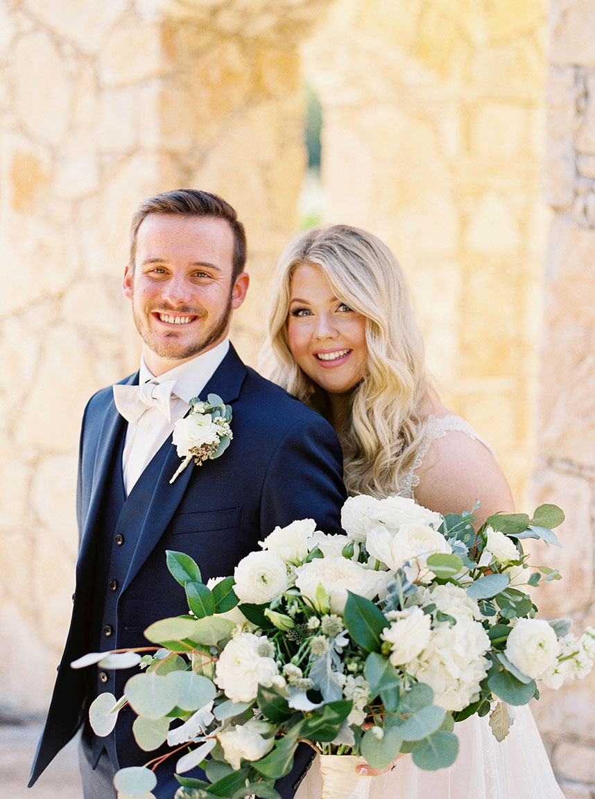 Lauren Brooks Weds Lucas Bell Fall Wedding at Camp Lucy Captured by Mint Photography