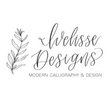 Ivelisse Designs Calligraphy