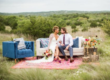 Jewel Toned Palette Austin Wedding Venue Jester King Brewery Hall