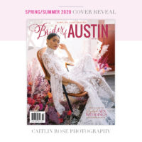 brides of austin spring summer 2020 cover caitlin rose photography