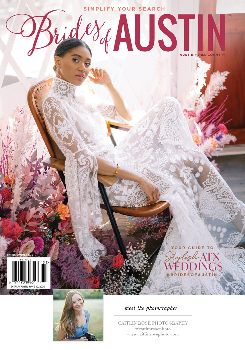 Brides of Austin Spring/Summer 2020 Cover
