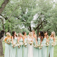 bridesmaids in mint green dresses - 8 wedding mistakes and how to avoid them