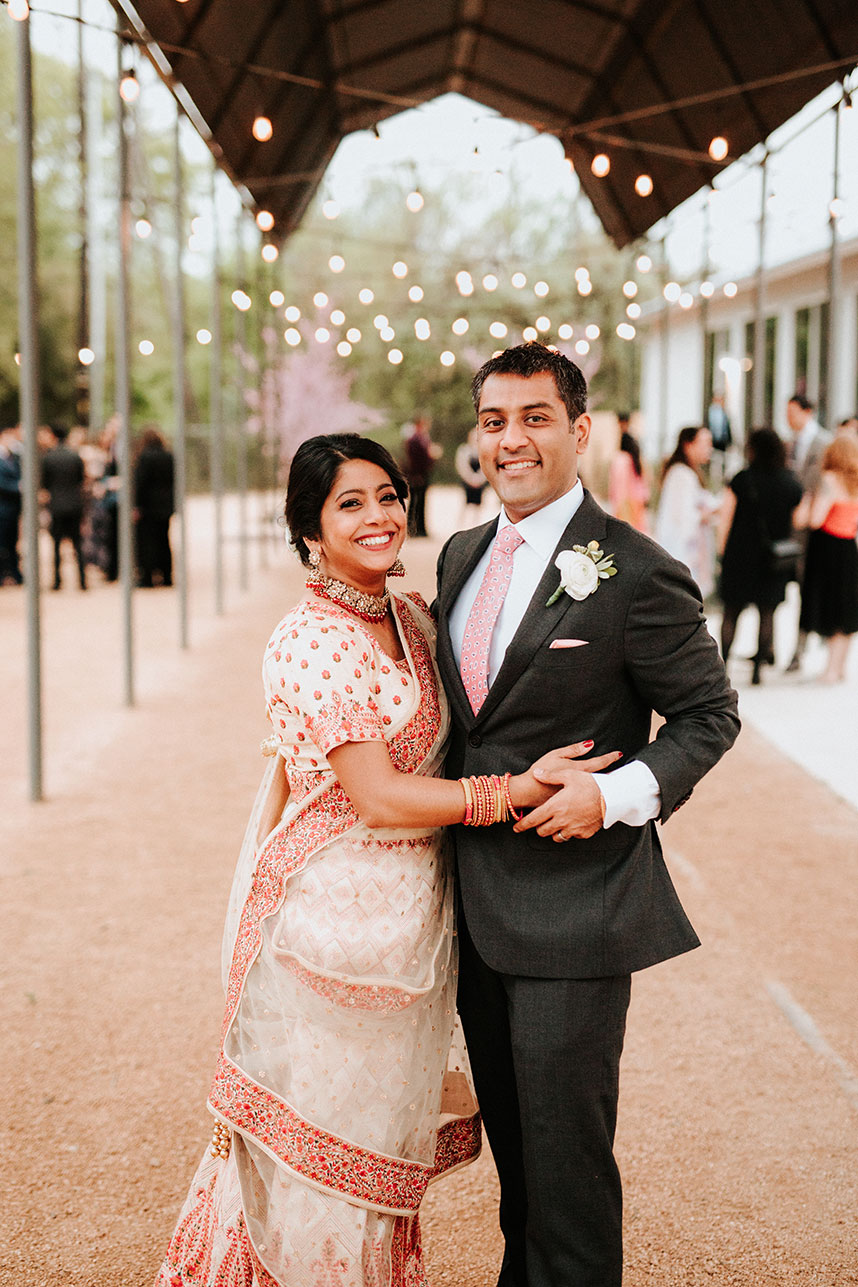 cultural bride and groom