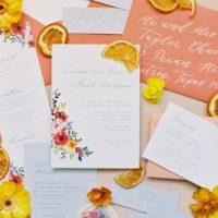 Citrusy Sweet Wedding Inspiration Austin Wedding Venue The Grand Lady Austin Wedding Photographer Kristin La Voie