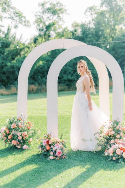 Whimsical Garden Wedding Inspiration Austin Wedding Planner Heavenly Weddings Austin Wedding Photographer Bear Moose & Fox