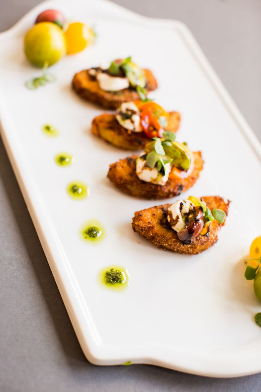 dishes from austin wedding caterers