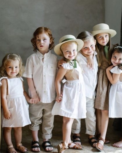 flower girl ring bearer