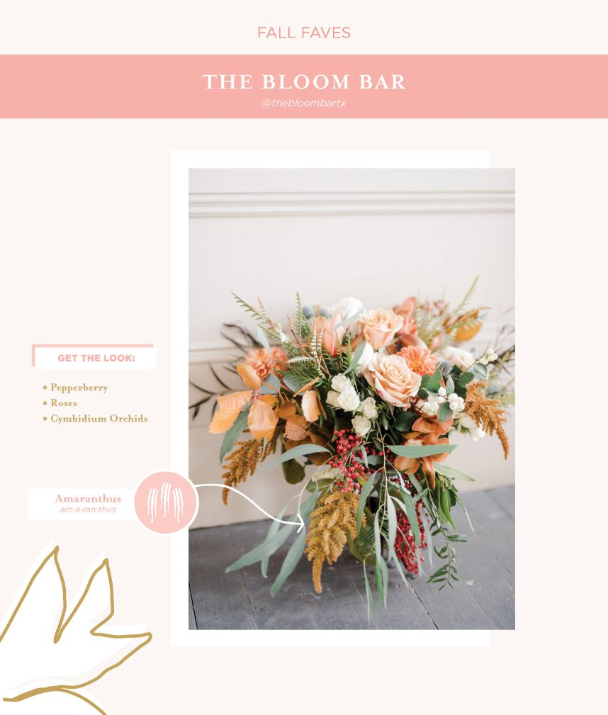 seasonal blooms, which wedding flowers for which season