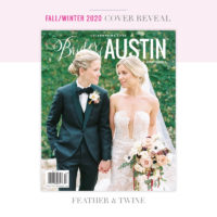 feather & twine brides of austin cover