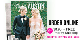 Order Brides of Austin Spring Summer 2020 Issue