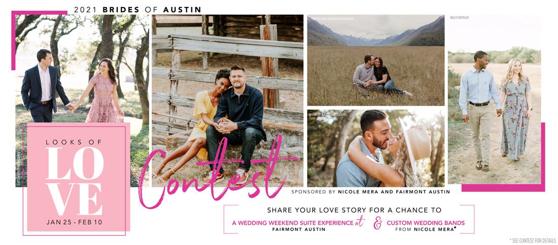 brides of austin looks of love 2021 contest
