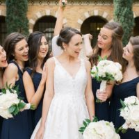 Elegant White Wedding with Timeless Details