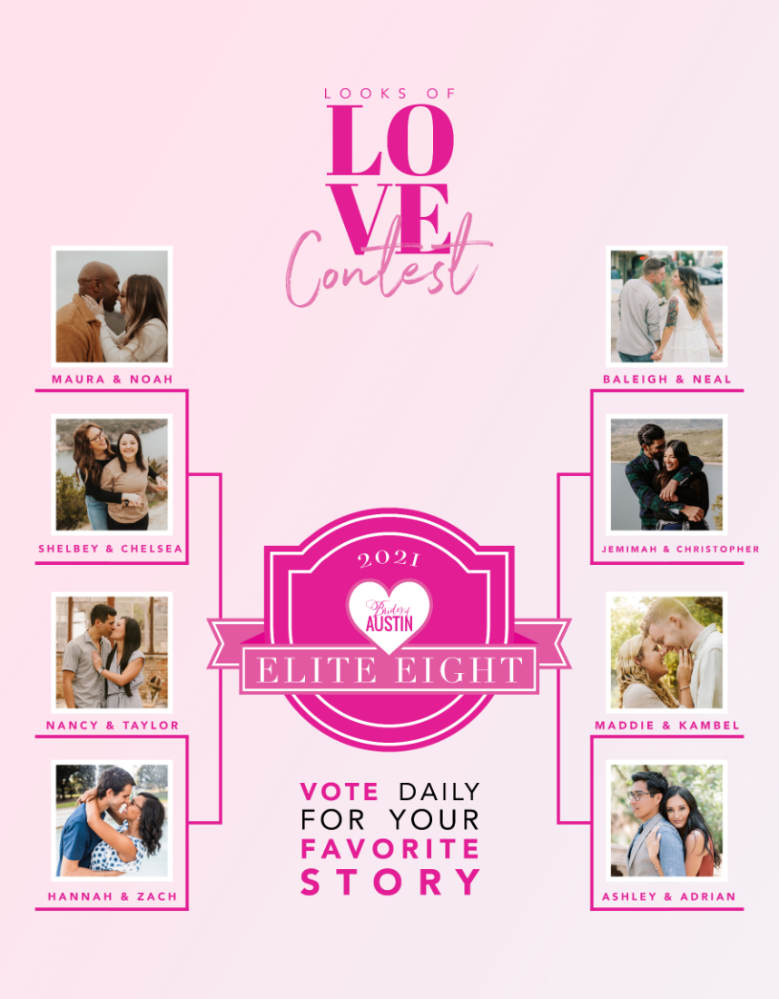 Looks of Love Contest 2021 – Cast your vote for our Elite 8 Finalists!