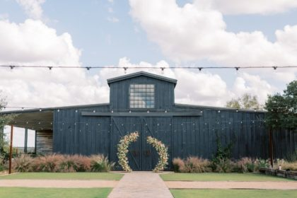 Florally Adorned Elegant Archway Austin Wedding Venue Two Wishes Ranch Events Austin Wedding Flowers Florist Floral Design Whim Hospitality