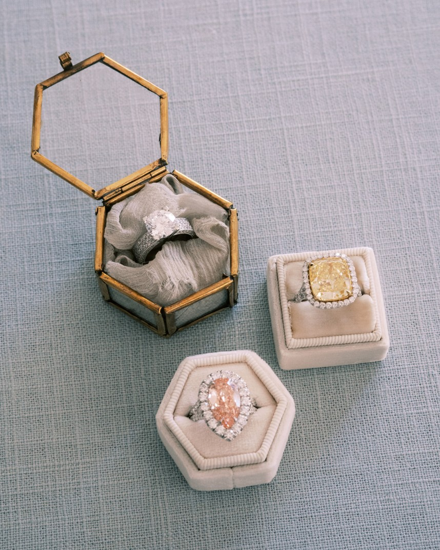 Wedding Jewelry Trend: Colored Gemstones