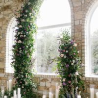 Florally Adorned Violet Vows Austin Wedding Venue The Chandelier of Gruene Austin Wedding Flowers Florist Floral Design Bouquets of Austin