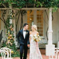 Modern Elegance Wedding Inspiration Austin Wedding Venue The Woodbine Mansion Austin Wedding Photographer Mint Photography