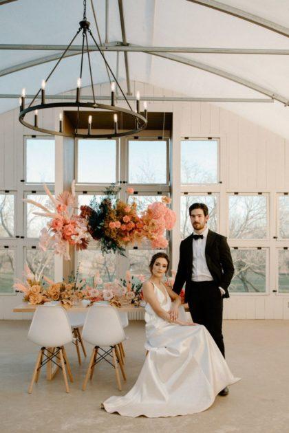 Groovy Boho Wedding Inspiration Austin Wedding Photographer Aurelia Baca Photography Austin Wedding Dress Shop Bridal Gown Store Unbridaled